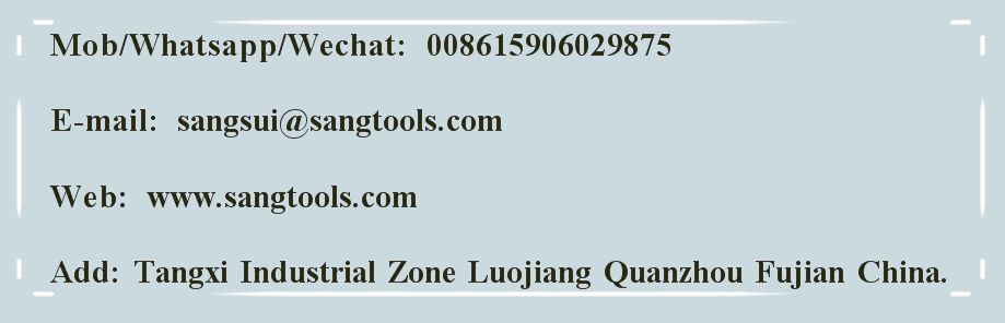 SANG DIAMOND TOOLS CO.,LTD