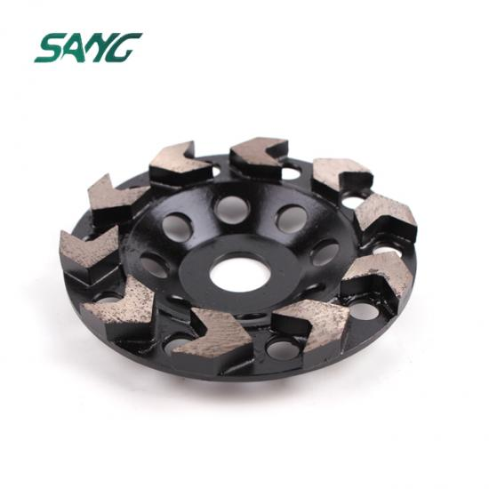 diamond cup wheel, V shape segment cup  wheel, abrasive disc