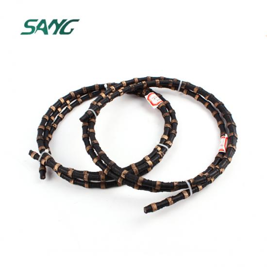 diamond wire saw, wire saw concrete cutting, diamond wire cutting rope, wire saw rope, diamond cutting rope,diamond wire saw rope